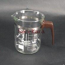 500ml Plastic handle Beaker Chemistry Laboratory Borosilicate Transparent Glass Beaker with spout