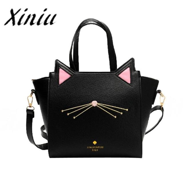 Xiniu cat handbag tote for women large capacity handbags womens handbag cat  ear women shoulder bag db480133b4e8e