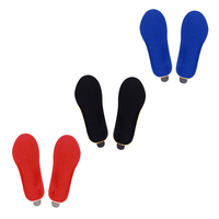 Feet Care Electronic Remote Control Heating Insole Velvet Hot Thicken Thermal Pad for Men Women Winter Outdoors Keep Warm Pad