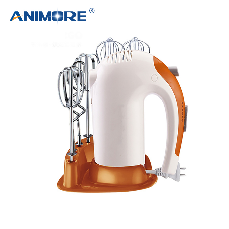 ANIMORE 5 Speed Dough Hand Mixer Egg Beater Food Blender Multifunctional Food Processor Ultra Power Electric Kitchen Mixer FM-04 9 speed hand mixer