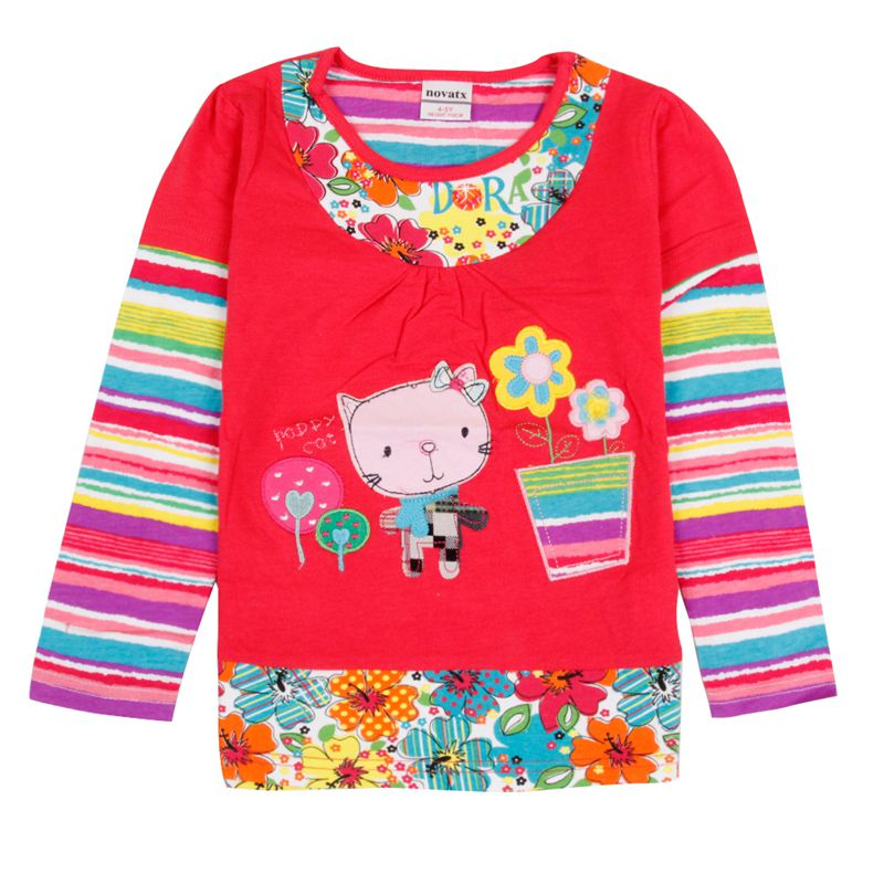 Aliexpress  Buy Girls T Shirts Novatx Kids Clothes