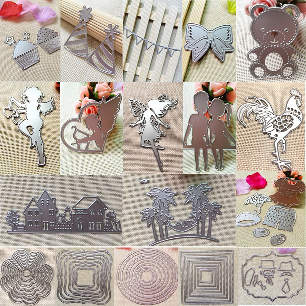 Beautiful Scrapbooking Album Embossing Paper Cards Decor