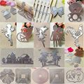 Beautiful Scrapbooking Album Embossing Paper Cards Decor Metal Cutting Dies Stencils DIY Top