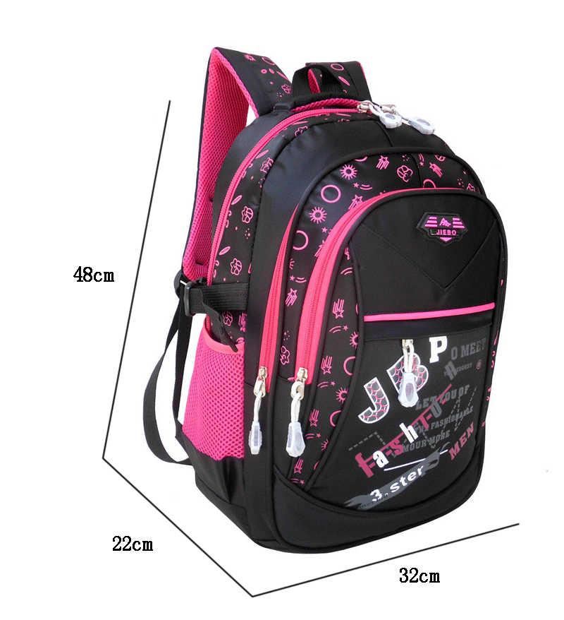 Nuevos bolsos escolares de moda para adolescentes niños y niñas mochila ortopédica de alta calidad para niños impermeable bolsa de libros para niños