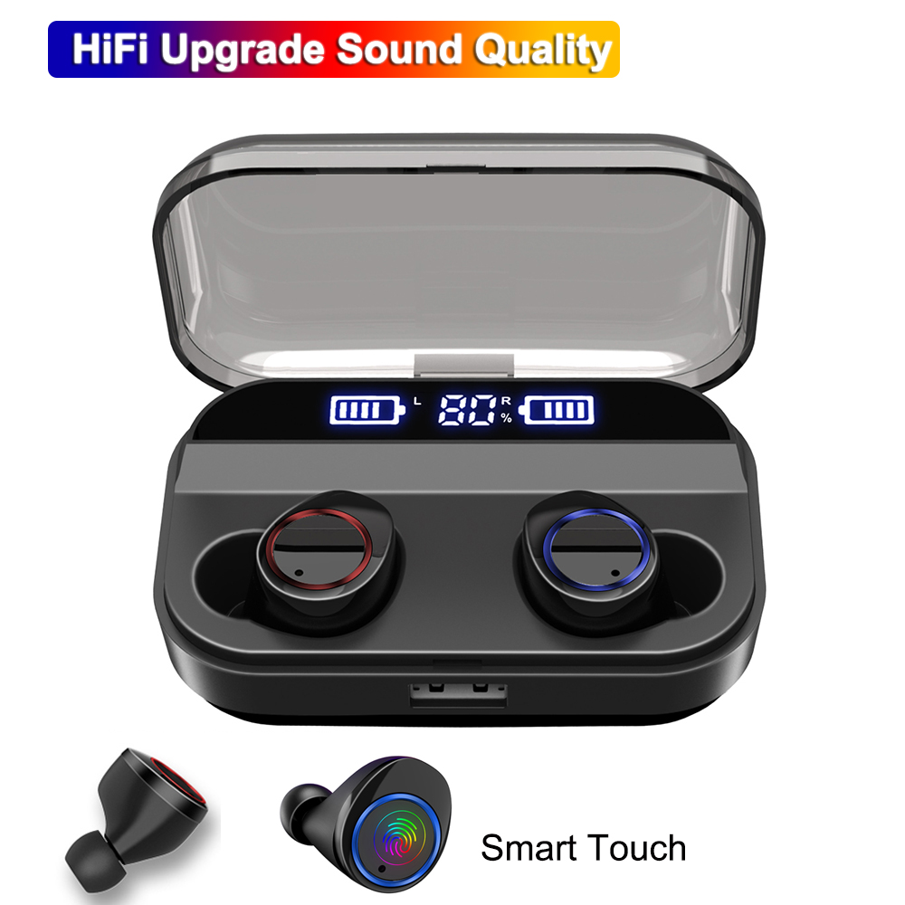 X11 TWS Bluetooth 5 0 Mini Earphone IPX7 Waterproof Stereo Wireless Earbuds Smart Touch Sports Wireless