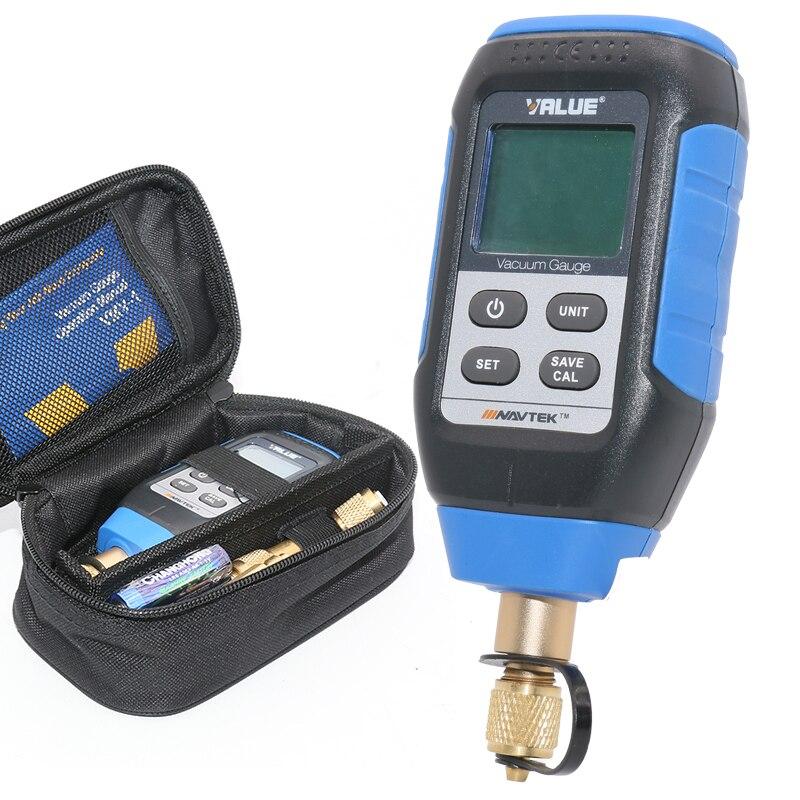 Intelligent sistema de refrigeração a vácuo de Laboratório de inspeção digital medidor de vácuo medidor de vácuo VMV-1 0-10000 p