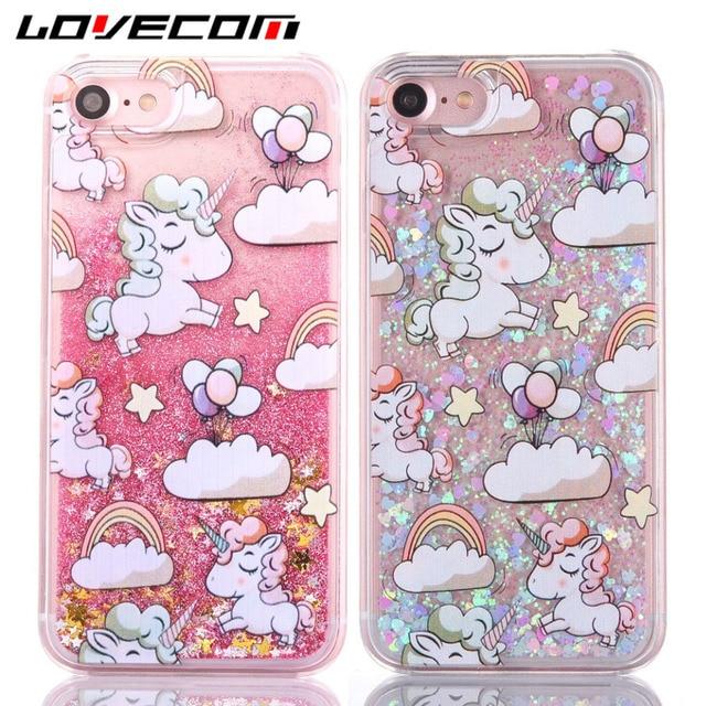 coque iphone 6 liquide licorne