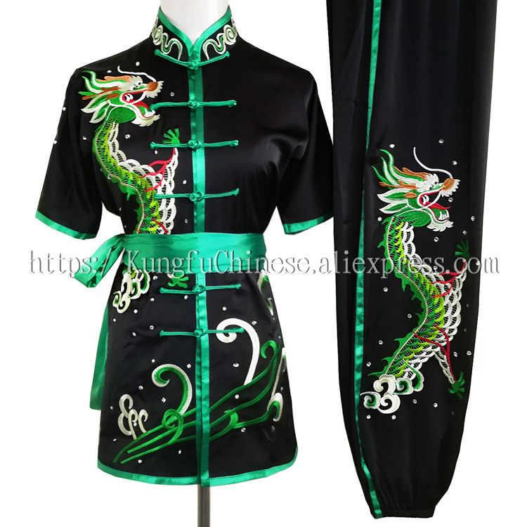 中国武術ルーチン制服カンフー衣装武道スーツ changquan 服の衣装男性女性子供少女少年、子供