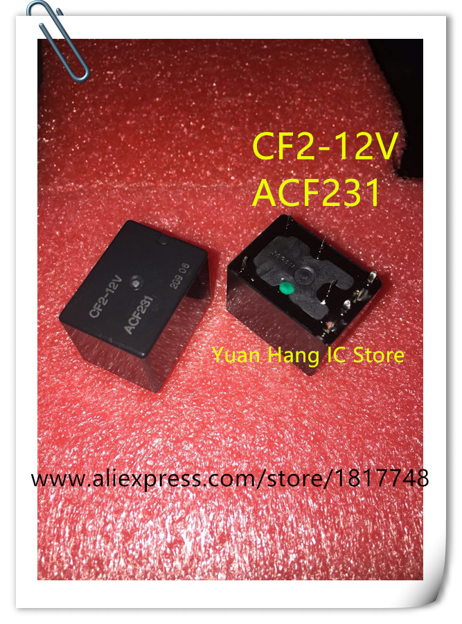 5 teile/los CF2 12V ACF231 TWIN POWER AUTOMOTIVE RELAIS Original zerlegen Charge anzahl zufällig-in Batteriezubehörteile und Ladezubehör aus Verbraucherelektronik bei  Gruppe 1