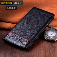 6.3inch Genuine Leather back case cover For Samsung Galaxy Note8 Note 8 N9500 N950F coque capas flip case shell cover