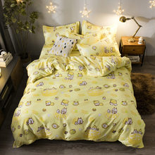 Bedding Set Duvet Cover Sheet Pillowcase Bed Linens Adult Kids Single Full Queen King Size Quilt Comforter Case Bedlinen24(China)