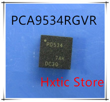 NEW 10PCS/LOT PCA9534RGVR PCA9534 MARKING PD534 QFN-16