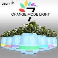 ZINUO Dotykowy Kolorowe Night Light Bezprzewodowy Głośnik Bluetooth Inteligentnego Ładowania USB Audio Przenośne Śpiewaj Muzyka Doniczka Wazon