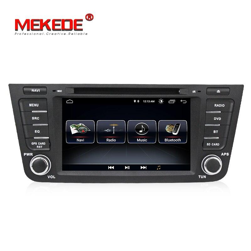 MEKEDE 1024x600 Quad core Android 8.1 2 DIN lecteur DVD de voiture pour Geely Emgrand X7 EX7 GX7 avec WIFI GPS BT autoradio stéréo + carte 8G