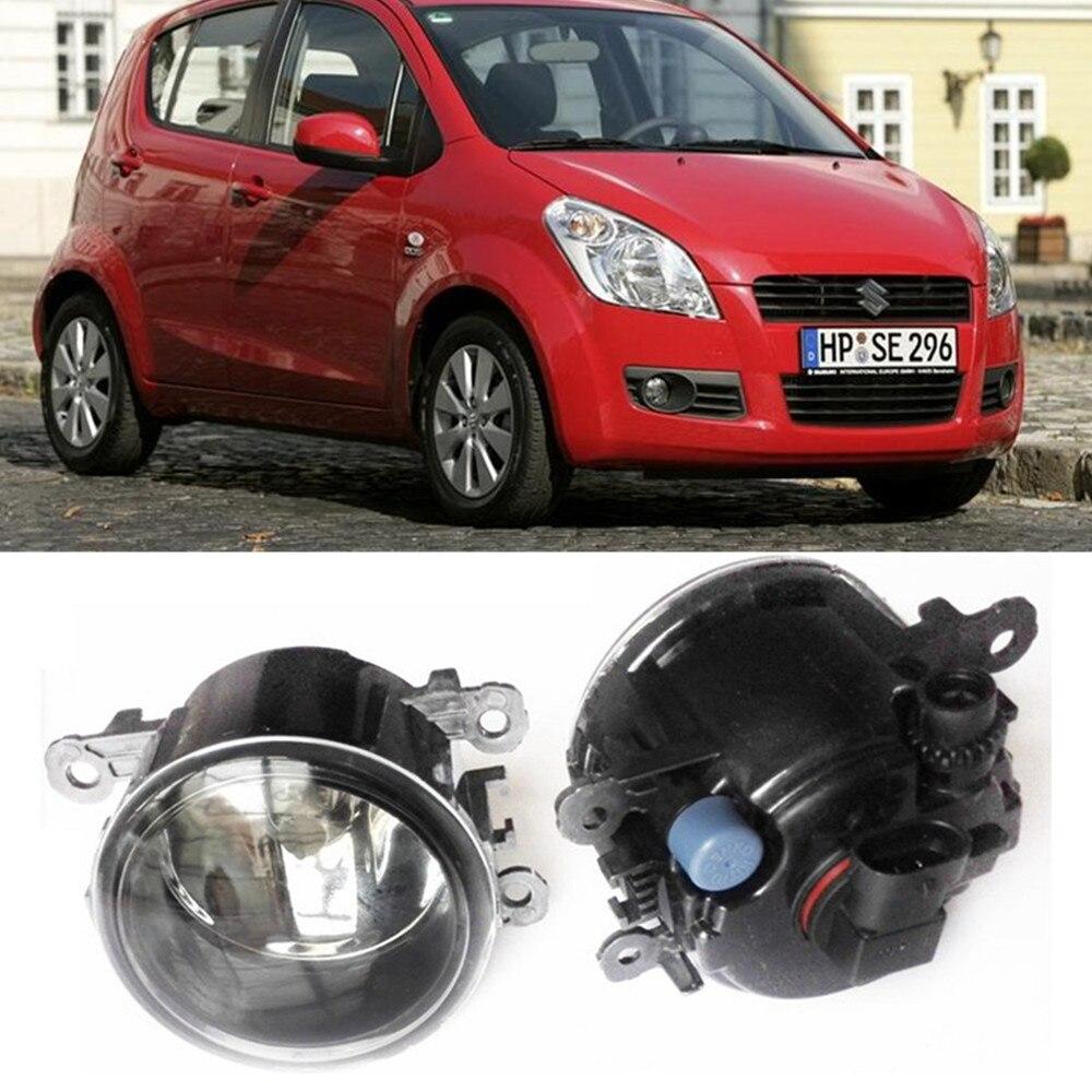 For SUZUKI SPLASH Hatchback  2008-2015 Car styling Fog Lamps halogen Fog lights 1SET for suzuki sx4 gy hatchback 2006 2012 car styling fog lamps halogen fog lights 1set
