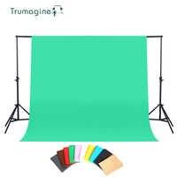 1.6X2 M/3 M photographie fond Photo Studio écran vert arrière-plans ChromaKey Non tissé toile de fond pour Studio Photo lumière