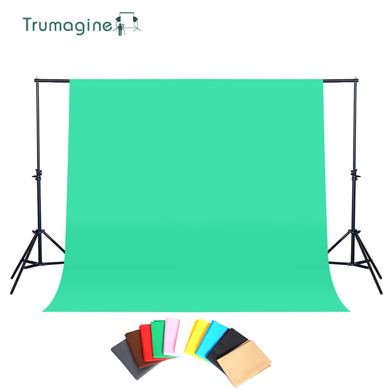1 6X2M 3M Photography Background Photo Studio Green Screen ChromaKey Backdrops Non Woven Shoot Backdrop For Studio Photo light