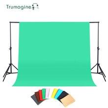1.6X2M/3M Photography Background Photo Studio Green Screen ChromaKey Backdrops Non Woven Shoot Backdrop For Studio Photo light