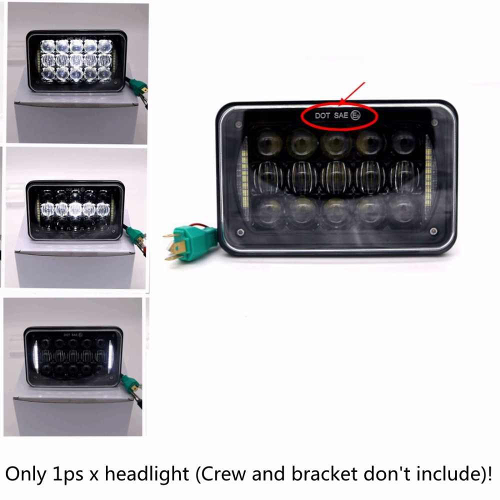 Yait LED Conversion Headlight Lamp For Honda XR250 XR400 XR650 and Suzuki  DRZ With 4*6 inch led headlamp