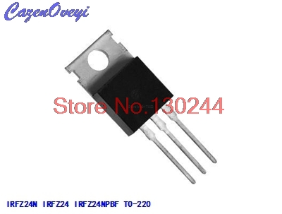 50pcs IRFZ24N IRFZ24 MOSFET N-CH 55V 17A TO-220 NEW HIGH QUALITY