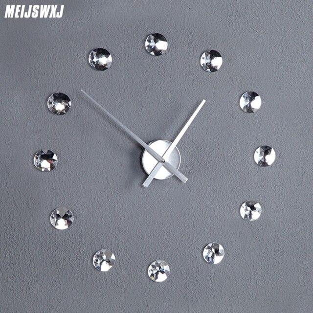 Clock Saat Reloj Wall Clock Relogio De Parede Horloge Murale Duvar Saati Wall Clocks Klok Wandklok Living Room Home Decoration