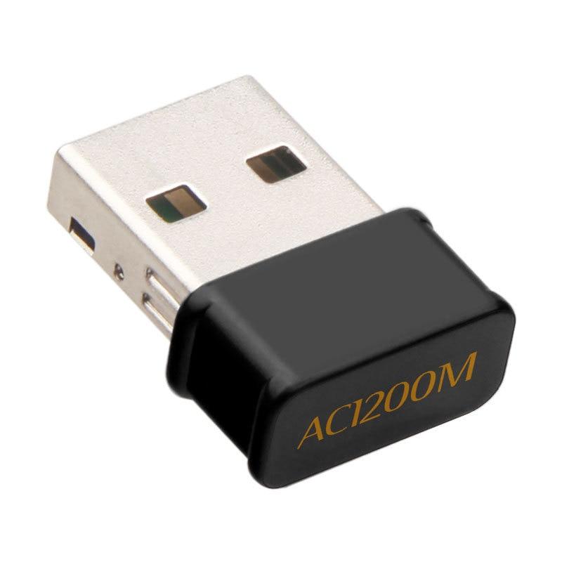 Mini USB3.0 Wifi Adapter 1200Mbps Dual Band 2.4Ghz 5.8Ghz RTL8812BU Wireless WiFi Network Card For Desktop Laptop Drop Shipping