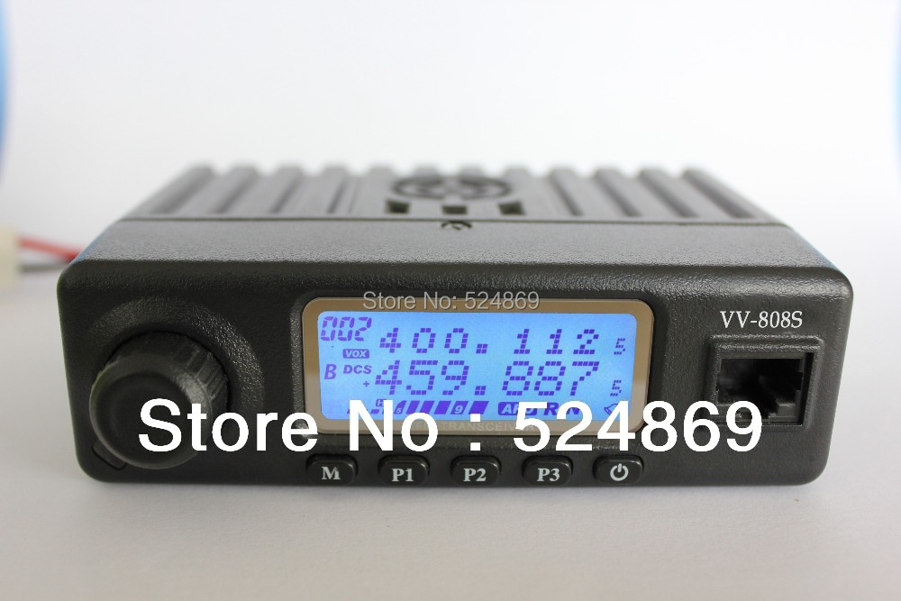 VV-808SU MINI 10W two way radio mobile transceiver walkie talkie FM radio Amateur Ham radio Srambler CT DTMF PTTID 1750 Hz burst