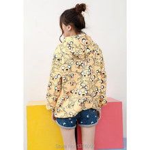 New Autumn Style Jake Dog  Hooded Sweatshirt Women and Girls