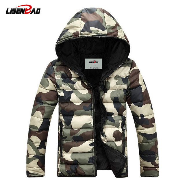 Aliexpress.com : Buy Military style Camouflage Winter Men Jacket ...
