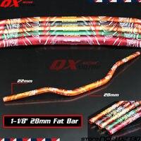 Motorcycle 1 1 8 28mm Handlebars Handle Tubes Fat Bars For KTM SX SXF EXC XC