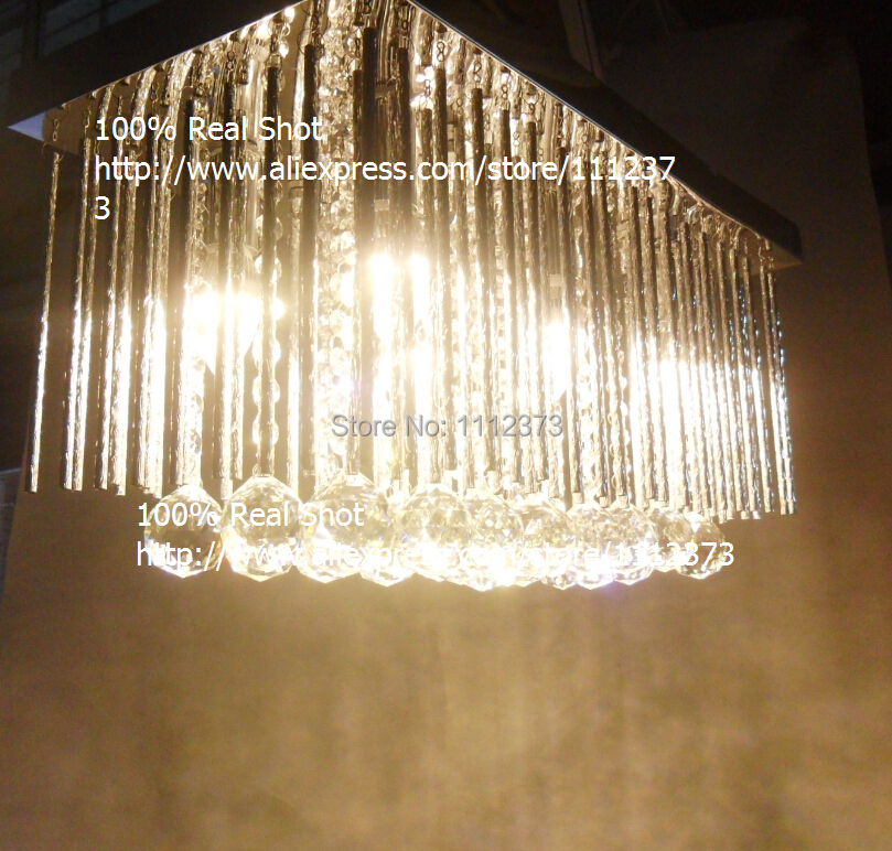 Factory outlet modern simple fashion k9 crystal chandelier with 6 factory outlet modern simple fashion k9 crystal chandelier with 6 lights shoot 100 real shot transparent in chandeliers from lights lighting on aloadofball Choice Image