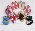 Soft Leather Baby Boys Girls Infant Shoes Slippers New Style First Walkers Leather Skid-Proof Kids Shoes 0-6 6-12 12-18 18-24
