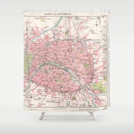 US $17.89 42% OFF|New Waterproof Vintage Europe Map Shower Curtain on bed map, bedroom map, portico map, exterior map, basement map, newfoundland and labrador map, security map, cafeteria map, secret passage map, fallout shelter map,