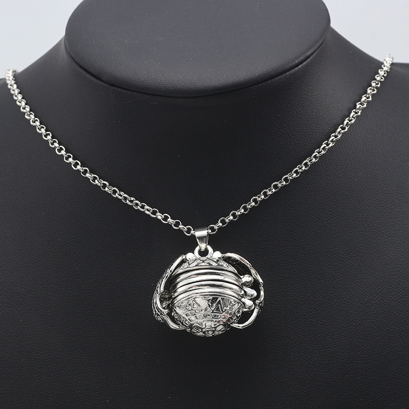 HUMANO FINO 4 Colors Magic Photo Pendant Memory Locket Necklace Plated Angel Wings Fashion For Women Men Family Children Gift
