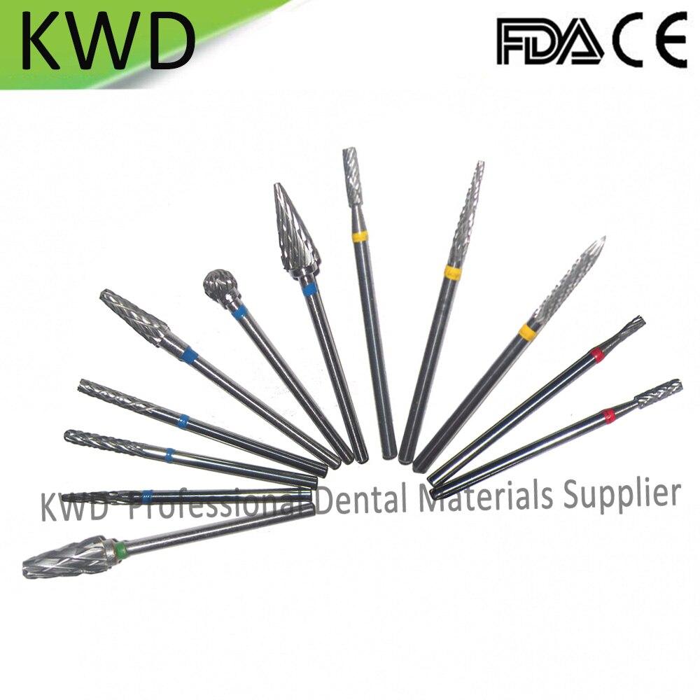 30pcs Lot HP Tungsten Carbide Dental Lab Burs Tungsten Carbide Nail Drill Bits High Quality Carbide