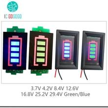 1S 2S 3S 4S 6S 7S Lithium Batterie Kapazität Anzeige Meter Tester Display Li Ion 4,2 V 8,4 V 12,6 V 16,8 V 25,2 V 29,4 V Power Ebene