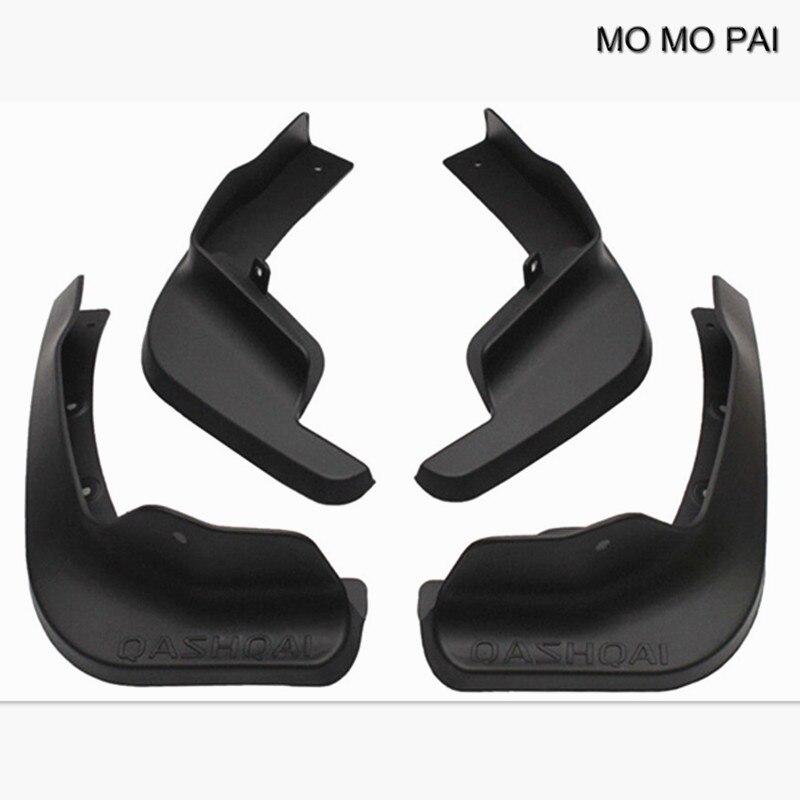 MOMO PAI 4PCS / set car styling Splash Guard Mud Guards Mud Flaps MudGuards Fit For 14-17 Nissan QASHQAI J11 Defensa все цены