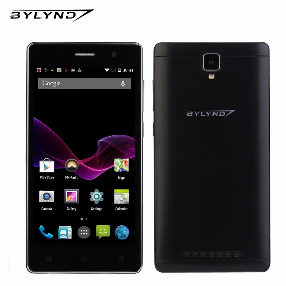 Original BYLYND M3 China SmartPhones celular Android os 1G RAM MTK quad core 5.0