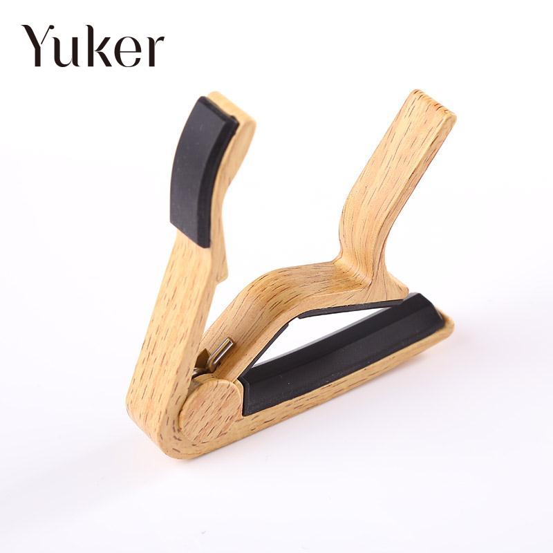 Yuker Quick Change Clamp Key Capo For Classic Guitar Tone Adjusting  Electric Ukulele aluminium alloy quick change clamp key clip acoustic classic electric guitar capo for tone adjusting