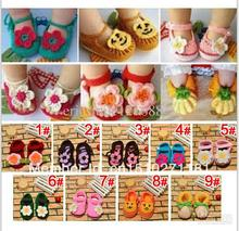 2014 fashion Handmade Baby shoes First walker shoes Children s crochet shoes infant shoes