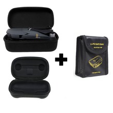 DJI Mavic Pro Accessories Drone Body Bag Remote Controller Bag LiPo Battery Safety Bag Protection Combo Three Pieces Suit