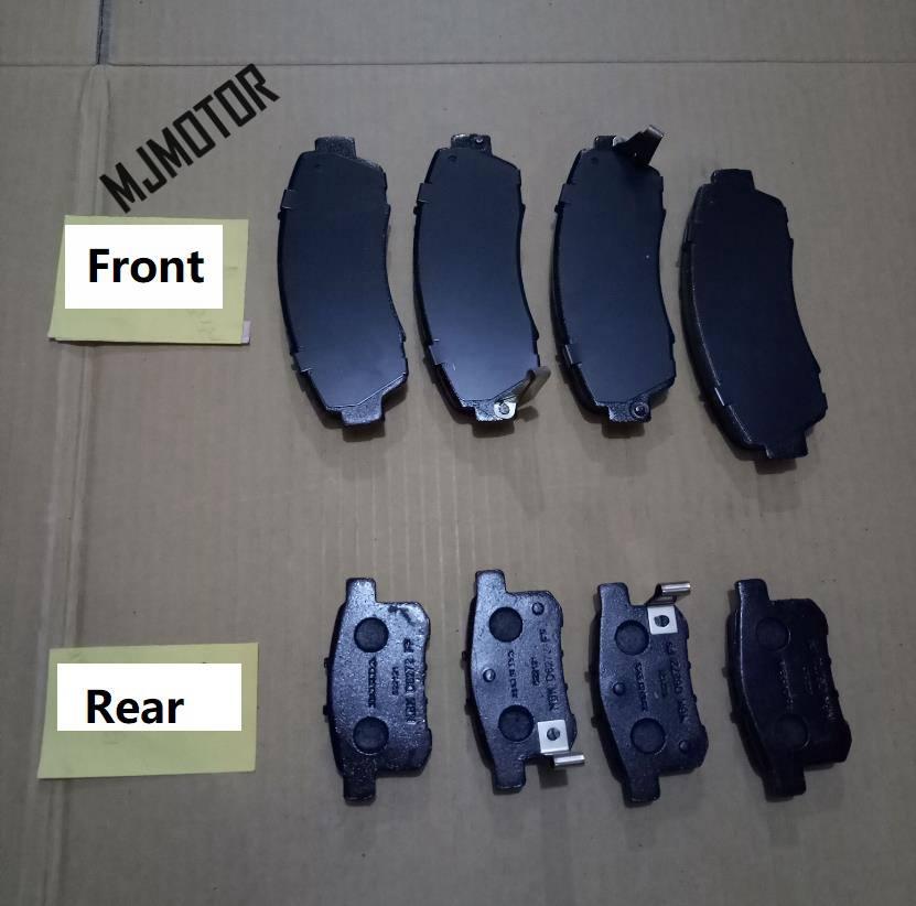 (1 paire/kit) plaquettes de frein avant/arrière pour chinois HAVAL H5 H6 SUV Auto voiture moteur pièces 3501115AKZ16B/3502315XKZ16A - 3