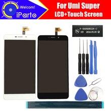 5.5 pouce Umi Super Écran lcd + Écran Tactile En Verre F-550028X2N-C 100% D'origine Testé LCD Écran Panneau de Verre Pour Super 1920×1080