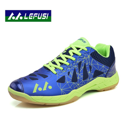 Authentic men badminton shoes ultra light anti skid wear sports shoes men and women models training.jpg 250x250