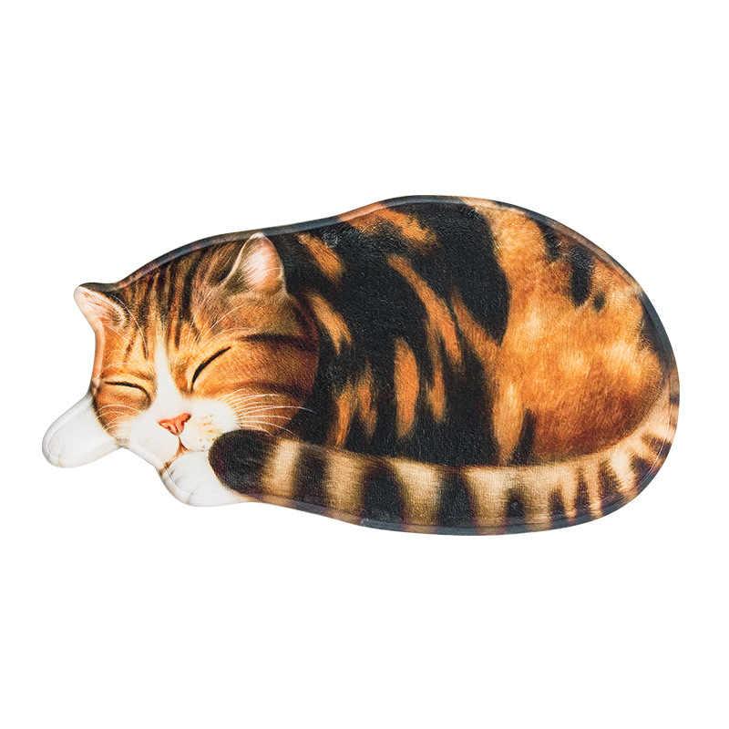 LYN & GY Estilo Japão Forma Gato Tapete Anti-slip Piso Tapete Cozinha Banheiro Tapete de Absorção de Água Não -derrapante Tapete Varanda Capacho