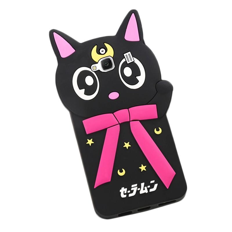 fundas 3d para redmi 2 3s 3X cat silicon back cover case for xiaomi redmi note 2 redmi 4A phone cover 25pcs/lot free shipment