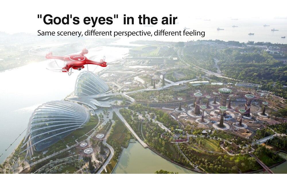 SYMA X5UW Control UAV Drone mit Wifi echtzeit Kamera HD 720 p Quadcopter 6 Achse 4CH 2,4 ghz RC Hubschrauber Kinder Spielzeug Geschenk-in RC-Hubschrauber aus Spielzeug und Hobbys bei  Gruppe 1