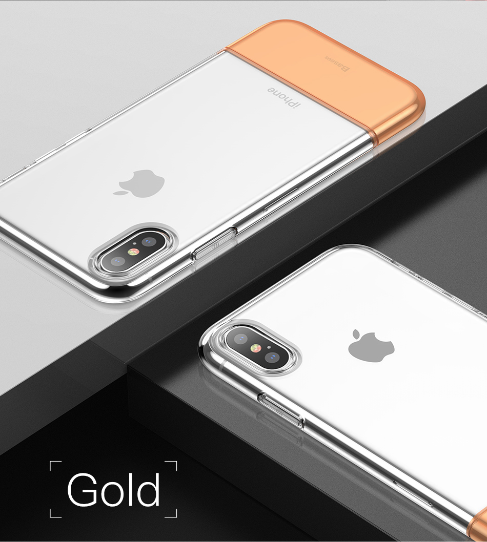 Baseus Hybrid-Silicone Case iPhone-XS-XS-Max-XR