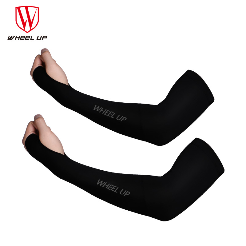 WHEEL UP UV Proof Sunscreen ArmIcecool MTB Bike Outdoor Riding Sleevelet Protection Armwears Cycling Sleeves Equipment in Cycling Gloves from Sports Entertainment