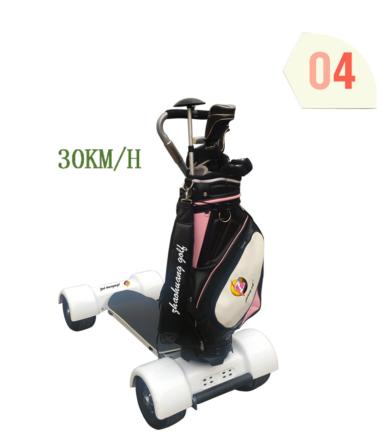 Electric Golf Carts 1000W60V 10.5inch Inflatable Four 4 Wheel Electric Scooters Golf Carts Electrical Scooter Golf Trolley (8)